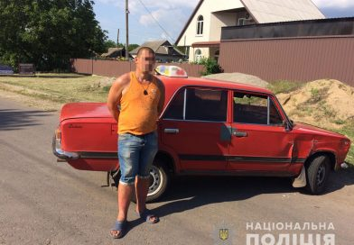Поліцейські Первомайська та Врадіївки з погонею затримали угонщика ВАЗу одразу після скоєння злочину